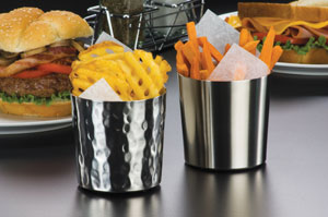 American Metalcraft fry cups