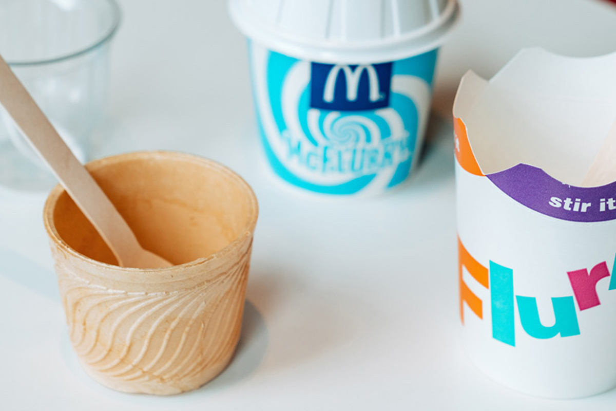 McDonald's Plastic-Free Packaging Berlin