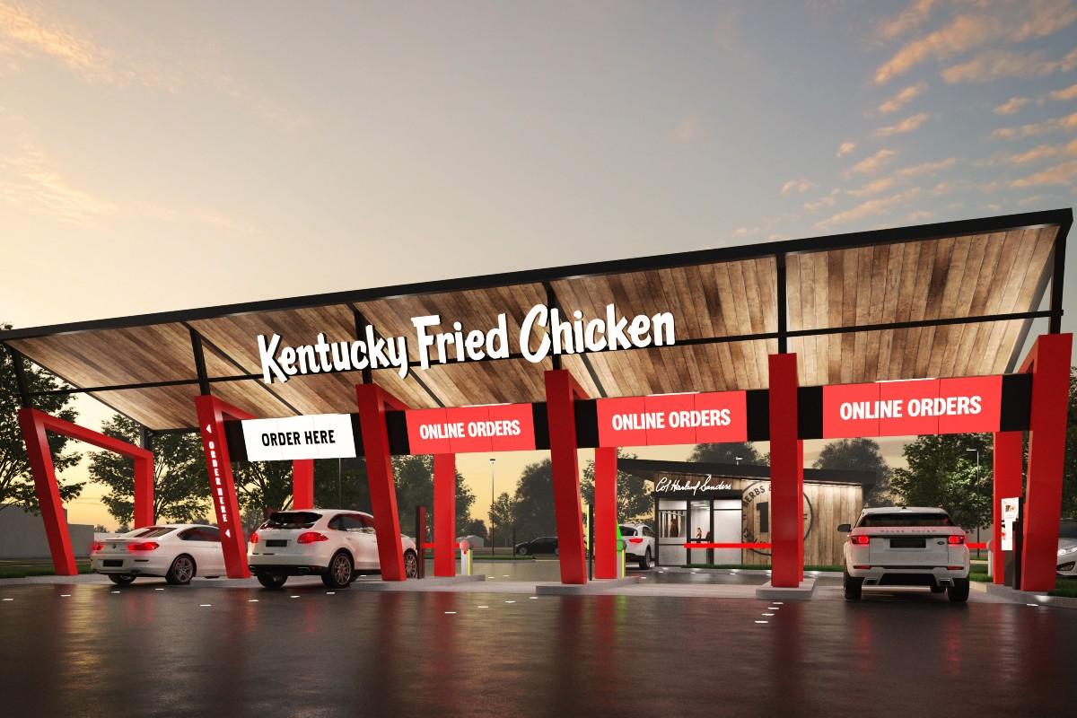KFC Concept Store Drive-Thru