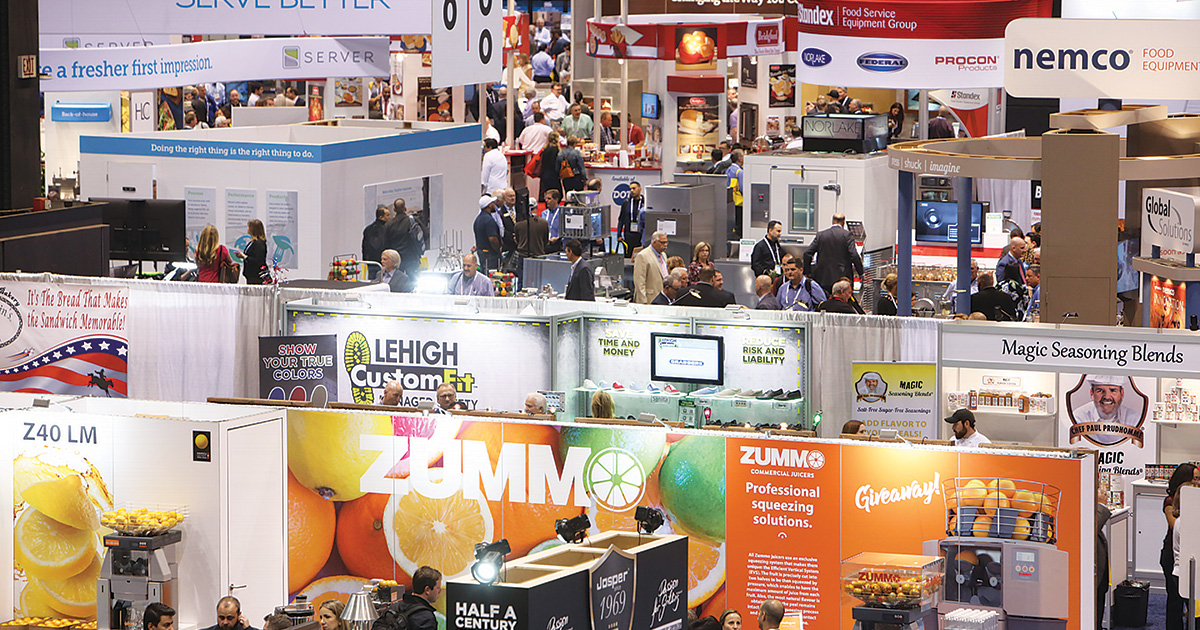 National Restaurant Association Show Floor