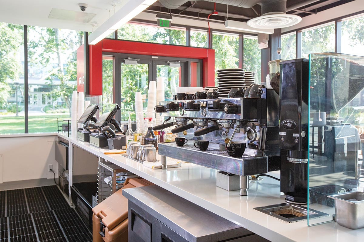 Caltech Red Door Marketplace Espresso Machines