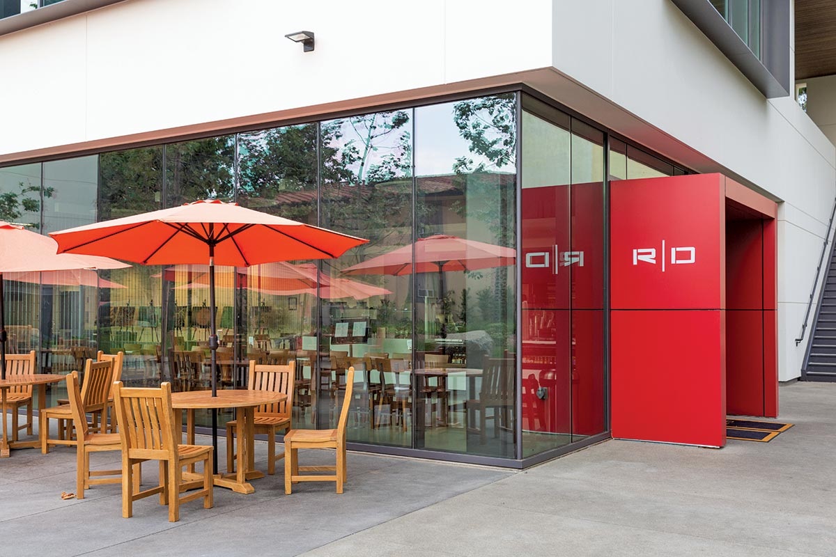 Caltech's Open Concept Red Door Marketplace