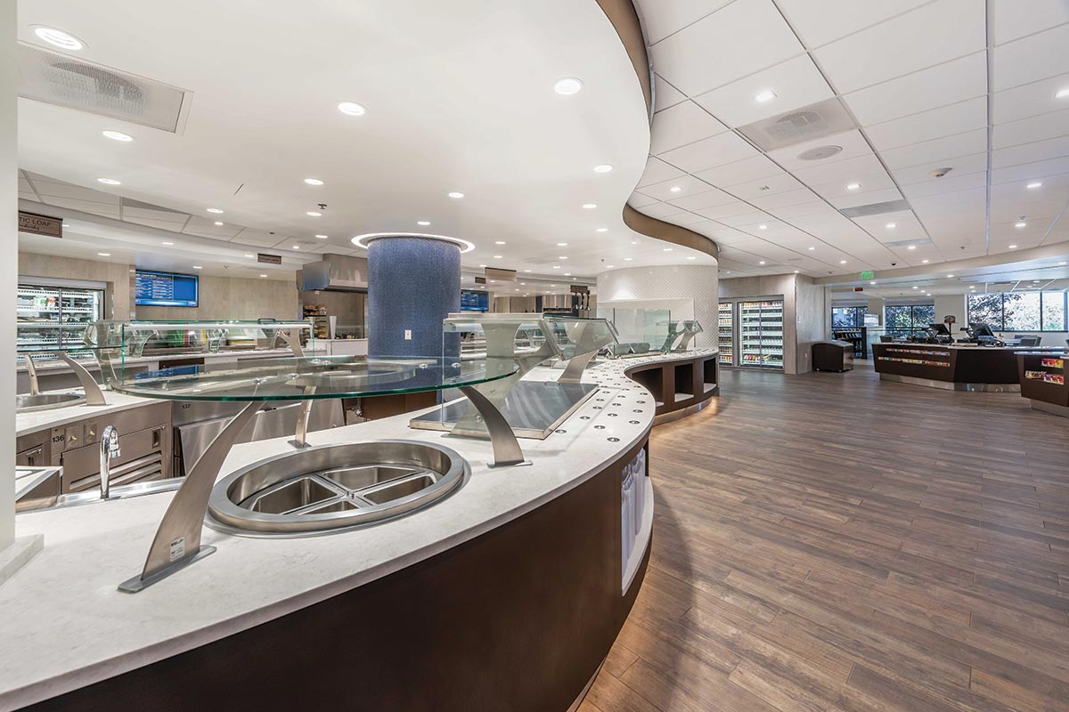 Porter Adventist Hospital South Downing Cafe Redesigned Space
