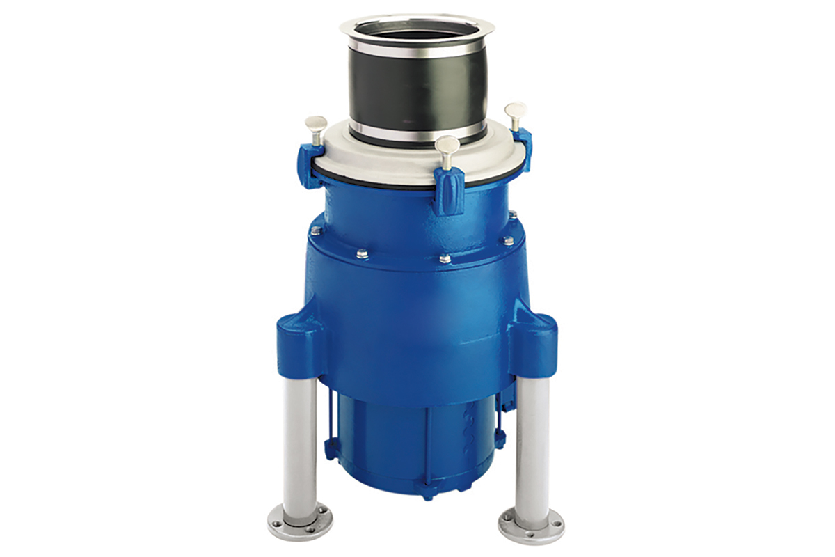Insinger Waste Disposer With Corrosion Resistant Materials