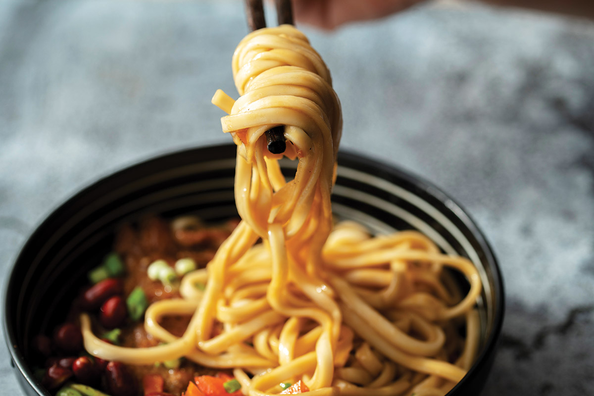 Asian Noodle Concept