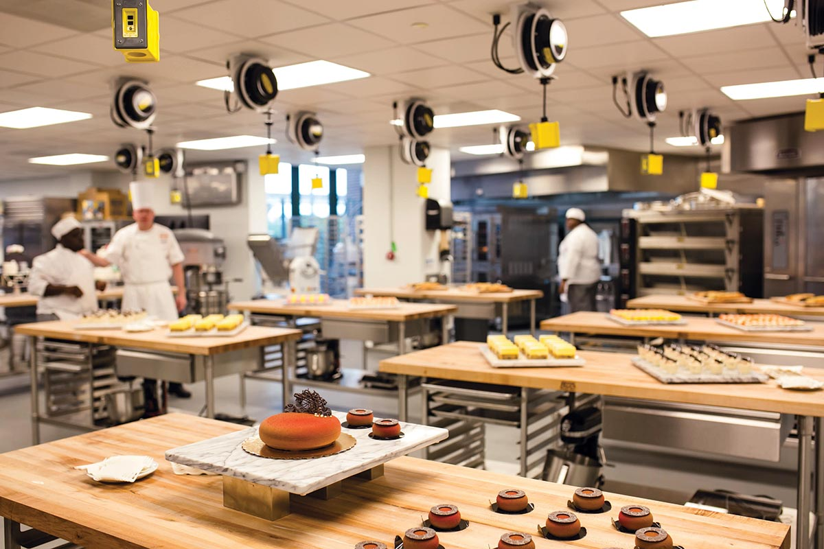 New Orleans Culinary & Hospitality Institute Baking & Pastry Lab