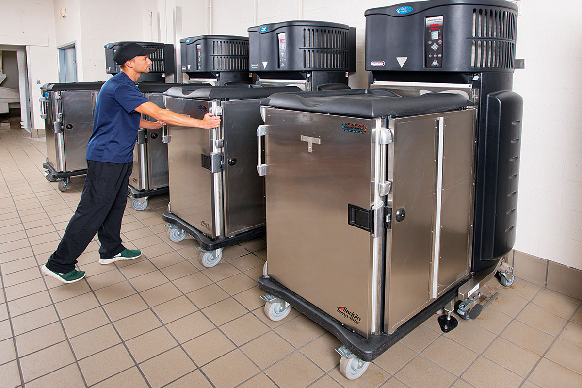 Convection Retherm Cart Docking Station