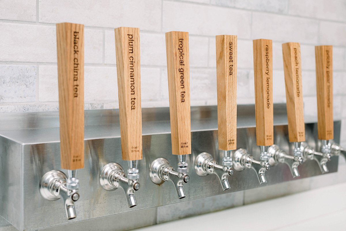 Custom Designed Beverage Tap System