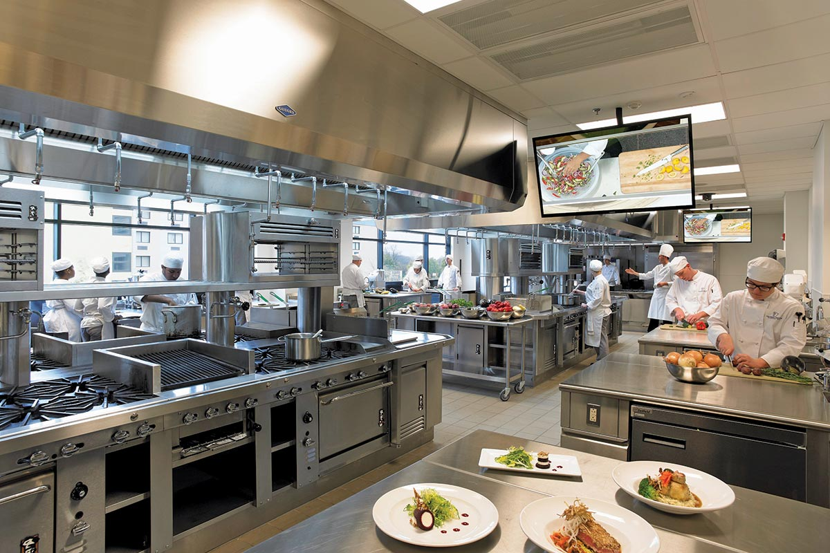 Gaylord Canopy Hood at Niagra Falls Culinary Institute