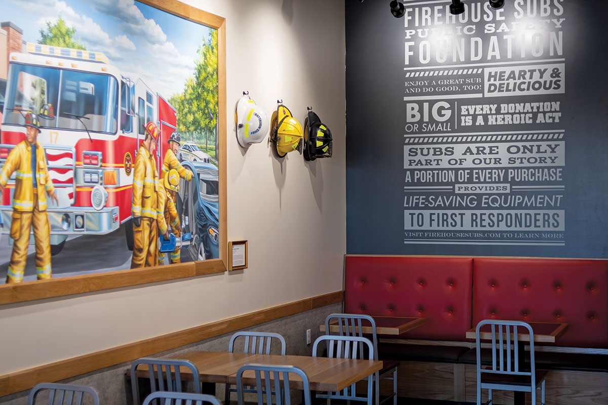 Firehouse Subs Mural