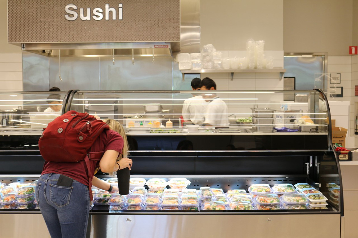 Banner University Medical Center Sushi Station