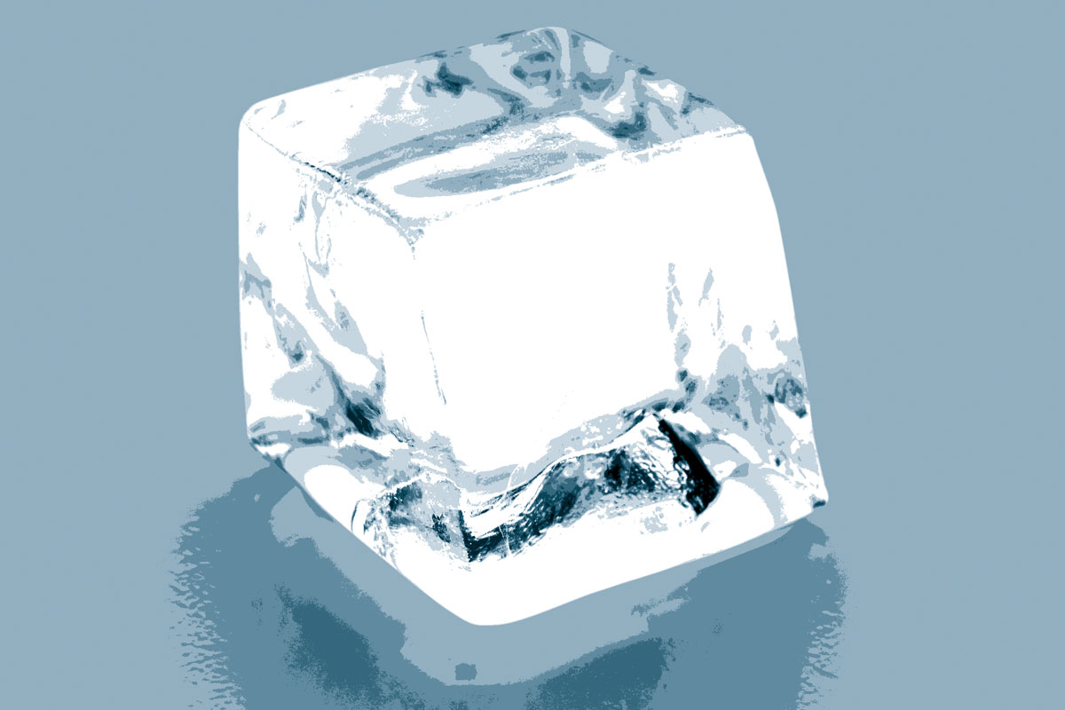 Cube and Other Styles of Ice