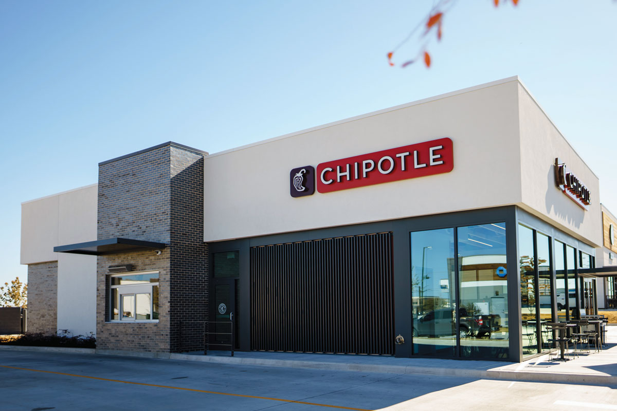 Chipotle Drive-Thru Window