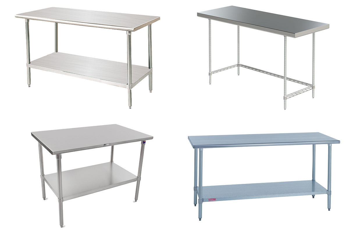 1 Product 4 Ways Work Tables