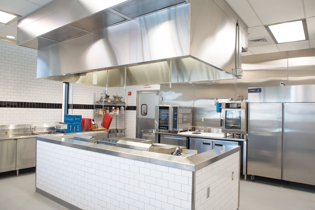 Culinary Support Center Test Kitchen