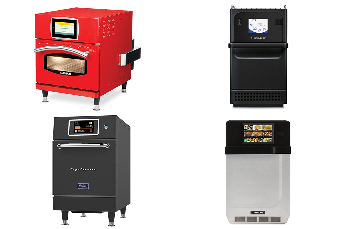 1 Product 4 Ways Fast Cook Ovens