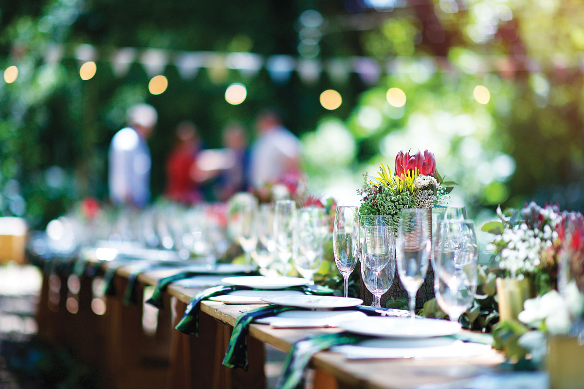 How to Prepare for the Outdoor Catering Season