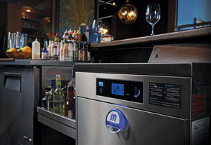 Undercounter dishmachines