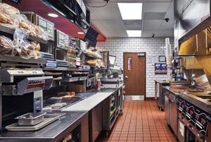 Arby's New Kitchen