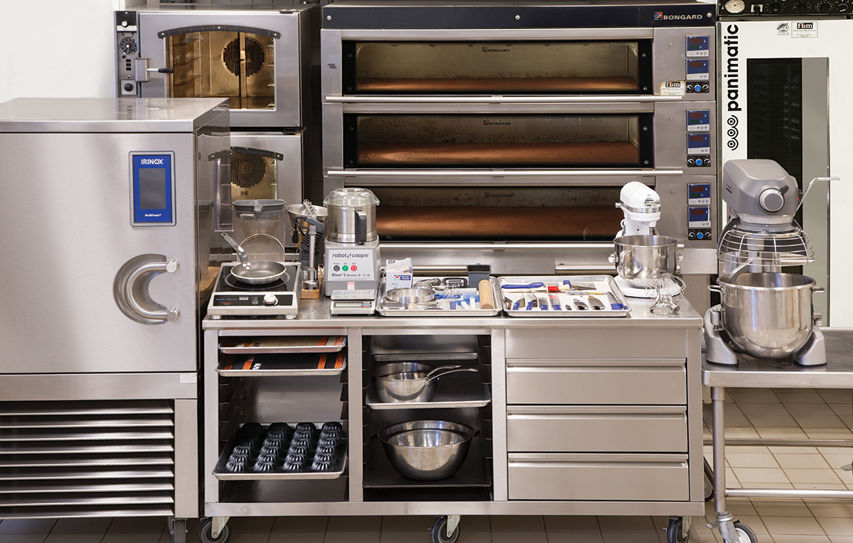 Pastry station