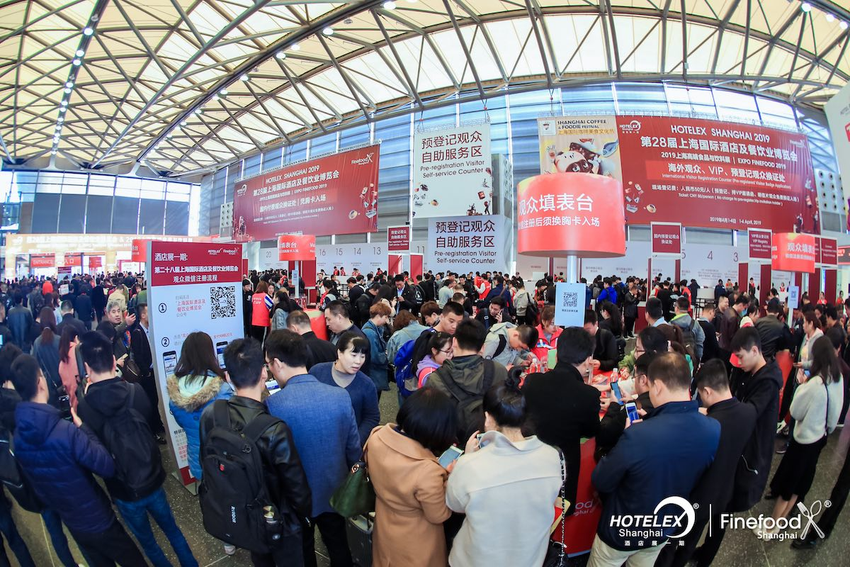 Conference Attendees at Hotelex Shanghai 2019