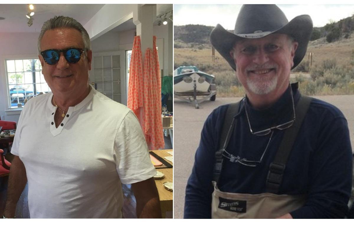 Steve Doyle, Sr. (L) and Mark Nelson