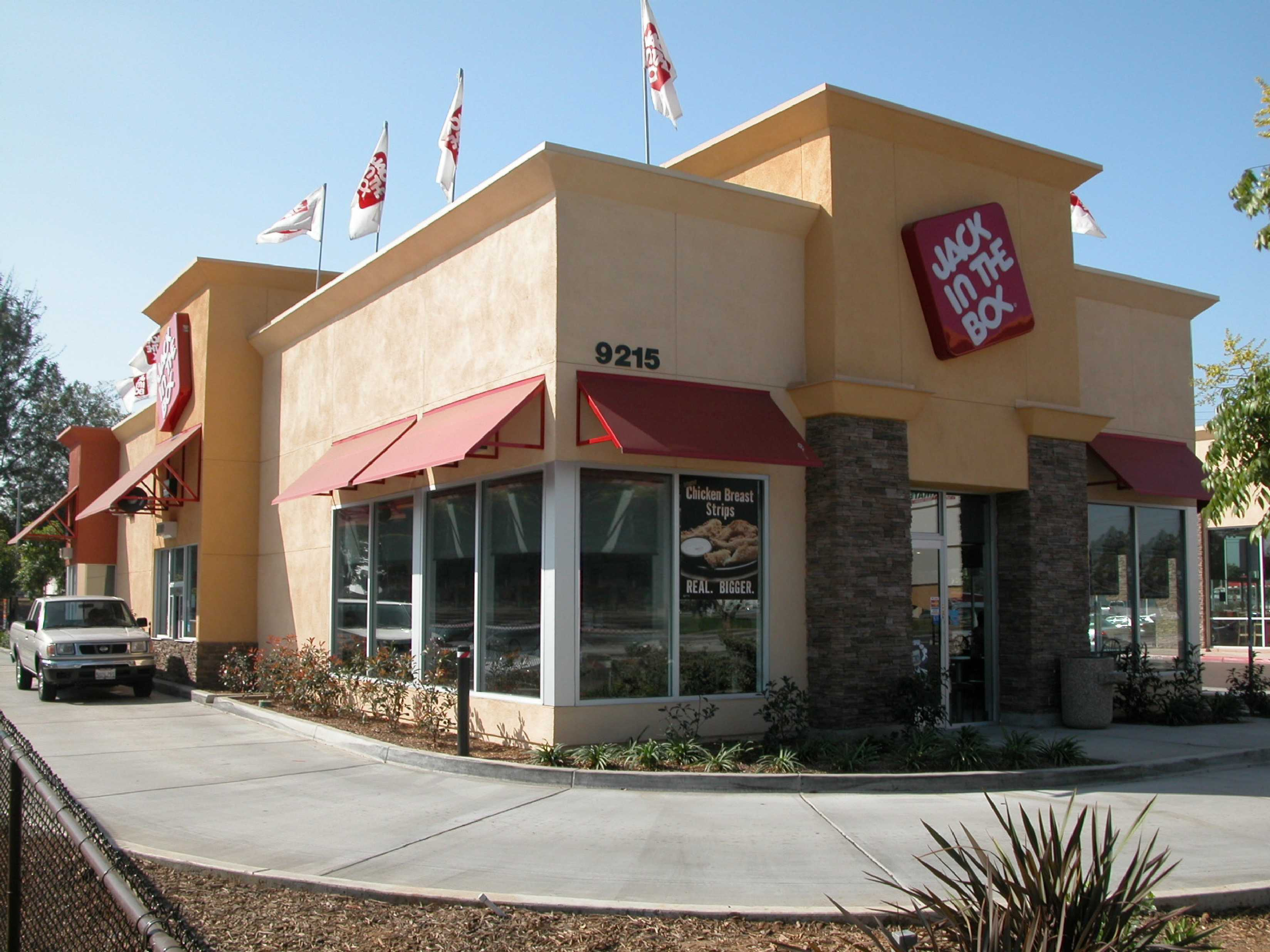 Jack in the Box outside