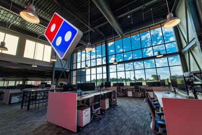 an inside look at pizza chain's tech center
