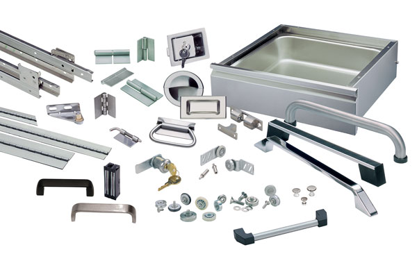 bits and pieces from cabinet drawers