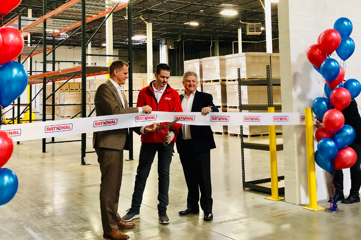 Rational Expands Warehouse Outside Chicago