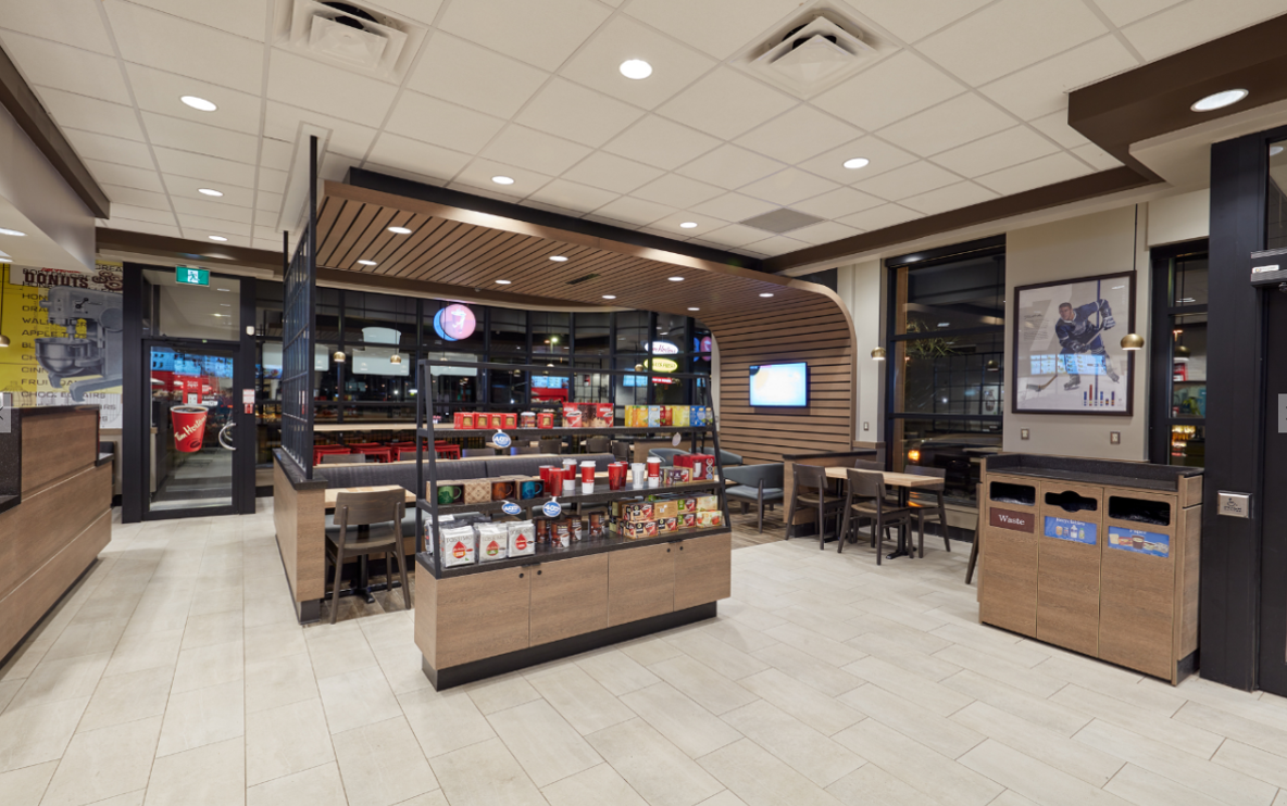 The Works Oakville >> Tim Hortons Shoots The Net With A Modern Redesign | 2018 ...