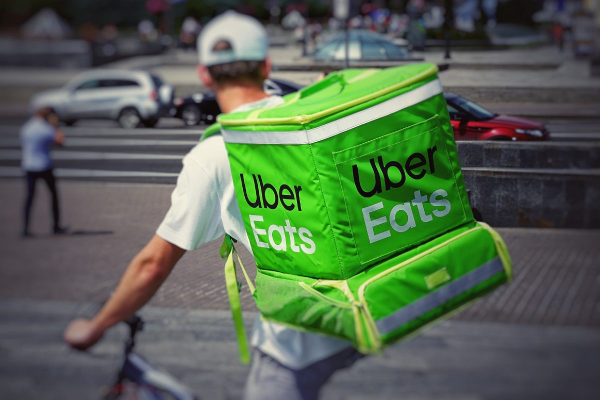 Uber Eats delivery photo