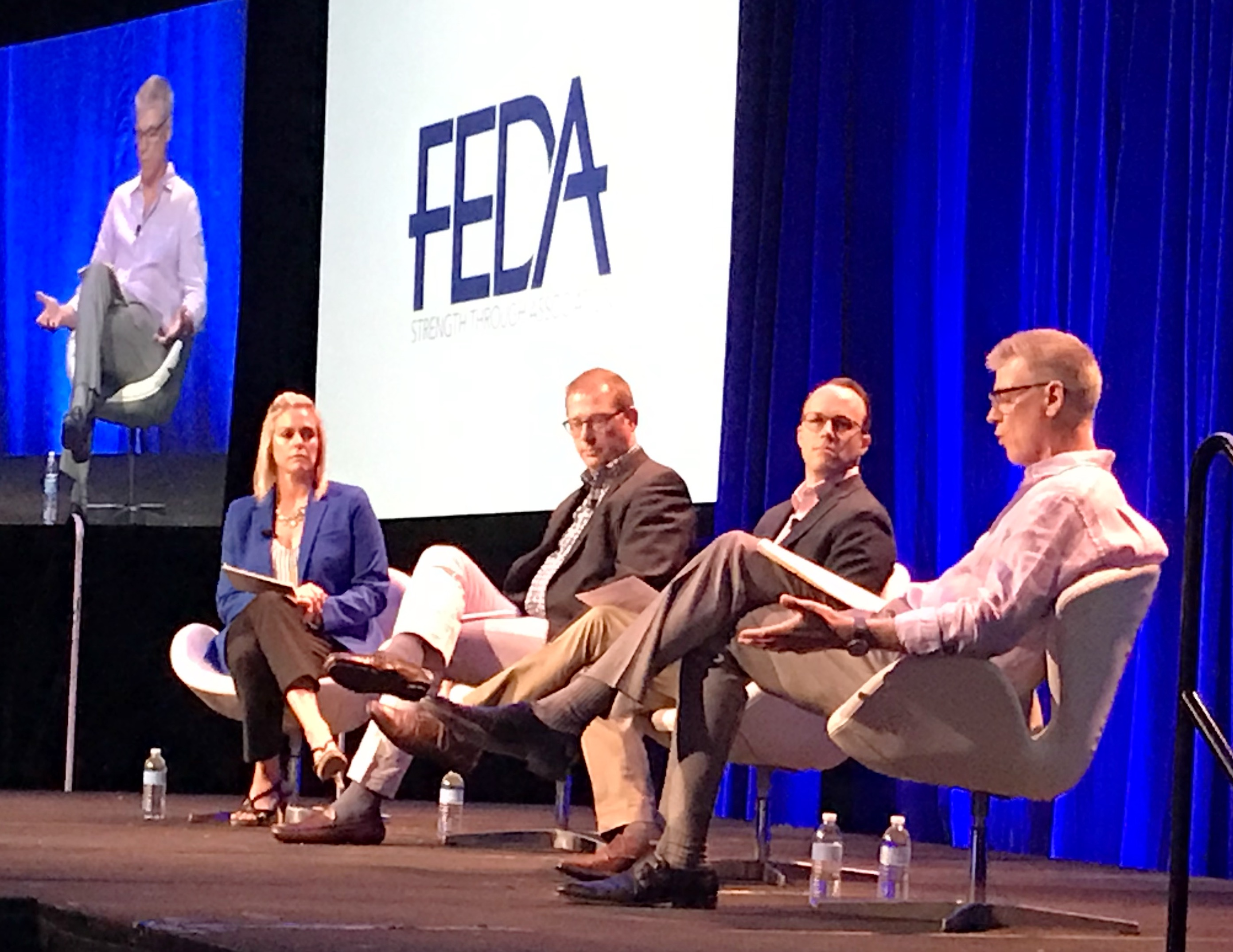 Industry leaders from Alto-Shaam, Clark Food Service Equipment and Boelter Companies discuss the future of the industry at FEDA 2019