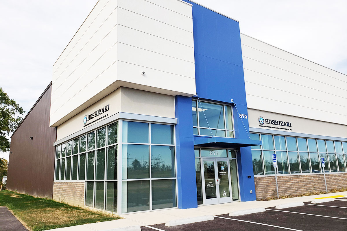 Hoshizaki America distribution center in Lewis Center, Ohio