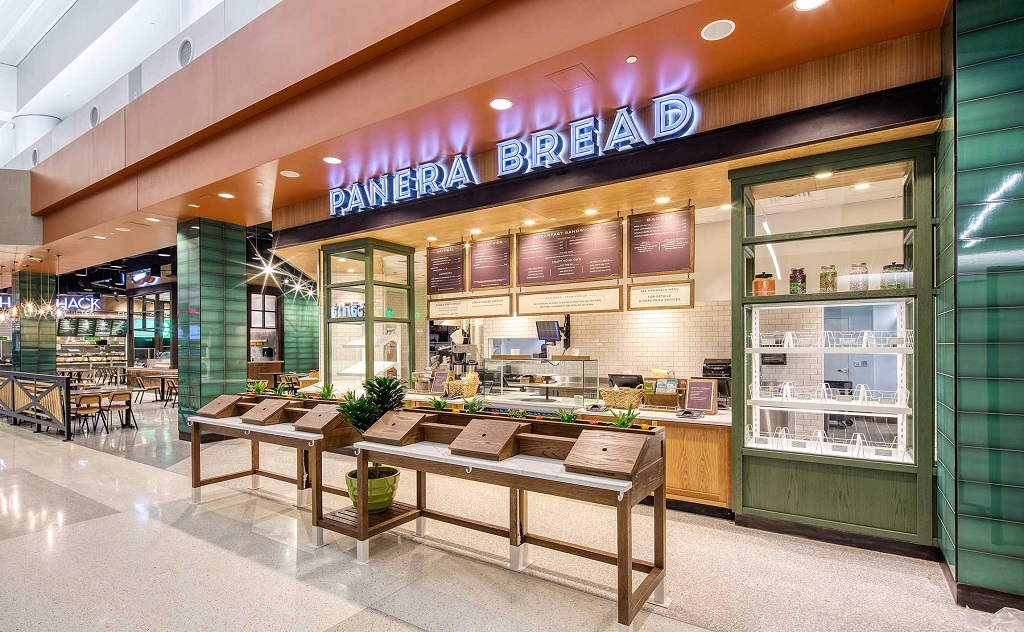 Panera location in Phoenix airport