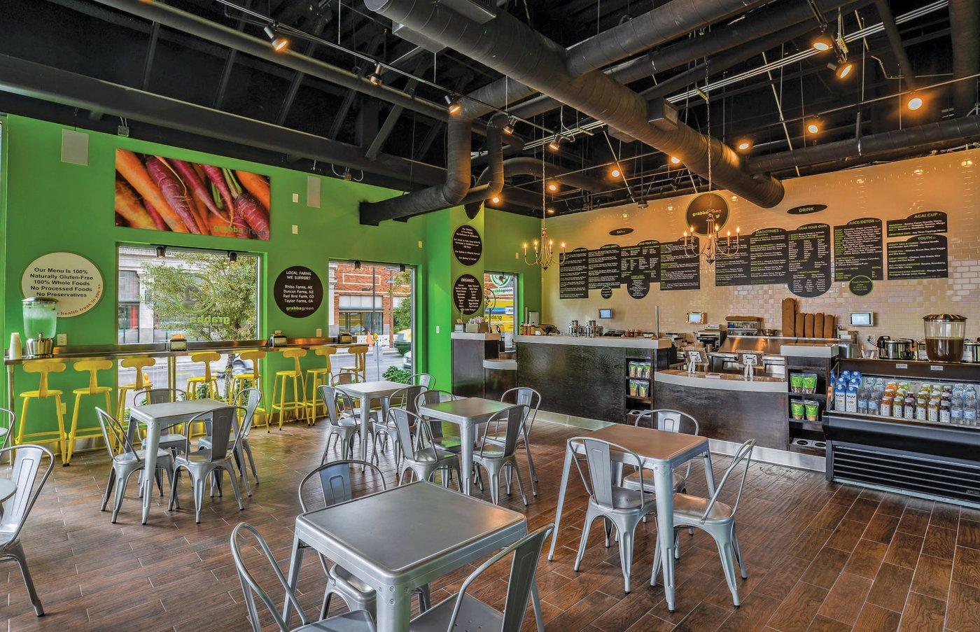 Grabba Green Dining Room
