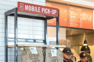 Mobile Pickup Order at Chipotle