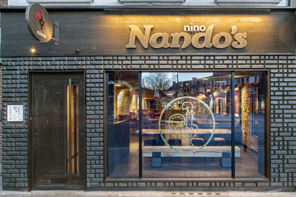 Nando's Nino Twickenham, 62 King Street, Twickenham, TW1 3SH. 19 January 2018