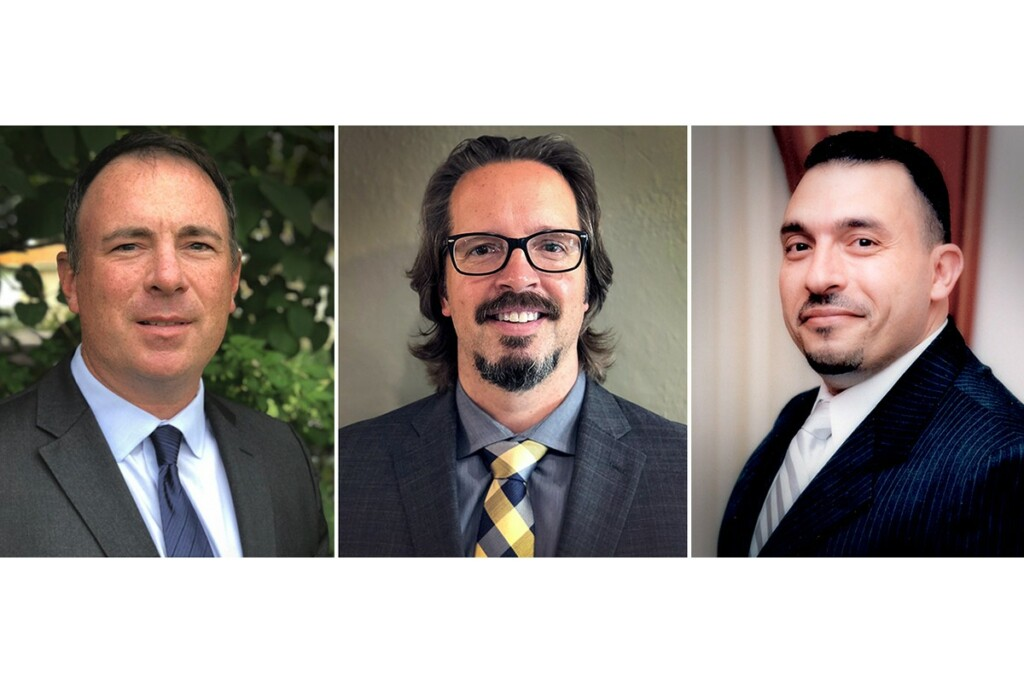 From left to right: Chris Carney, Howard McCann, and Feras Affani.