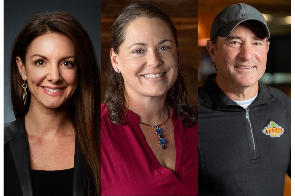 Kat Cole, Carissa De Santis and Jerry Morgan