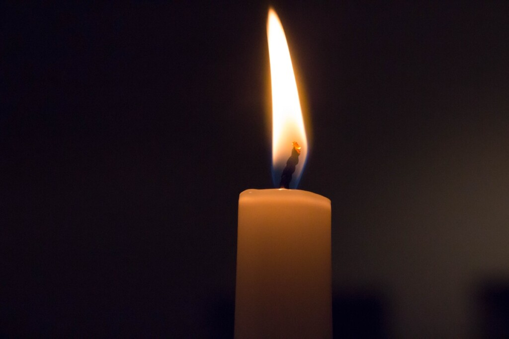 Stock Candle Flame