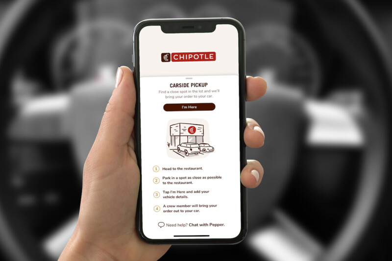 Chipotle Carside Pickup App