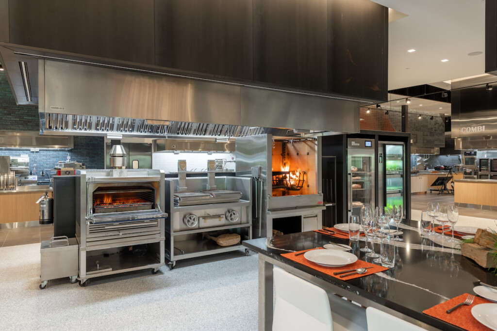 Middleby Innovation Kitchens feature over 150 pieces of equipment as well as dining areas to accommodate small and large groups. Photo Courtesy of Middleby
