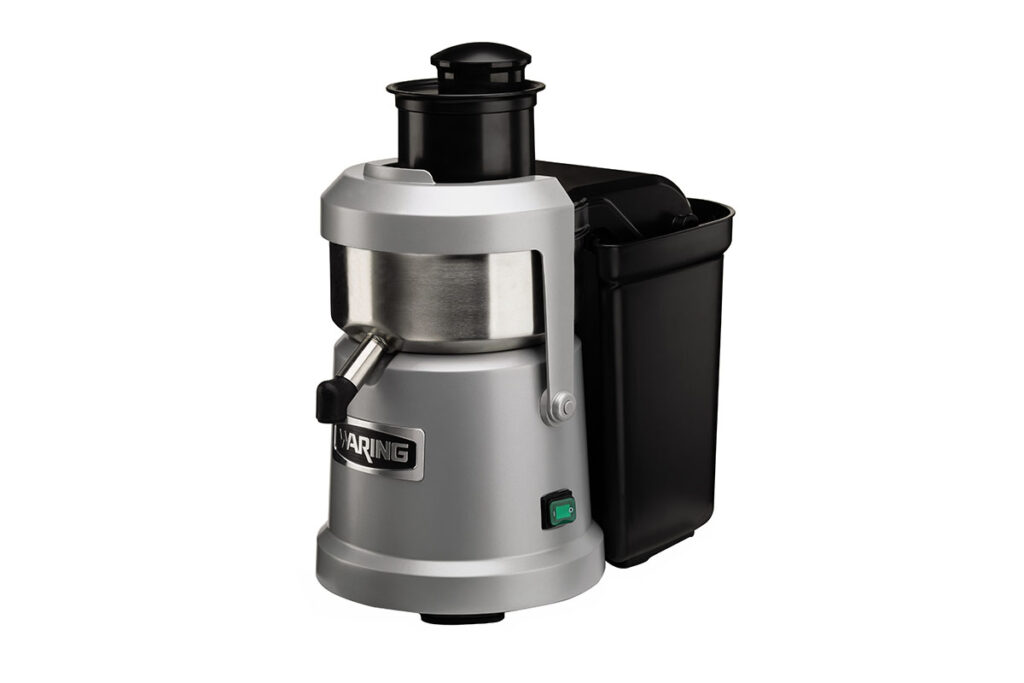Waring's WJX80 relies on a high rpm to separate juice from pulp for a quality product.