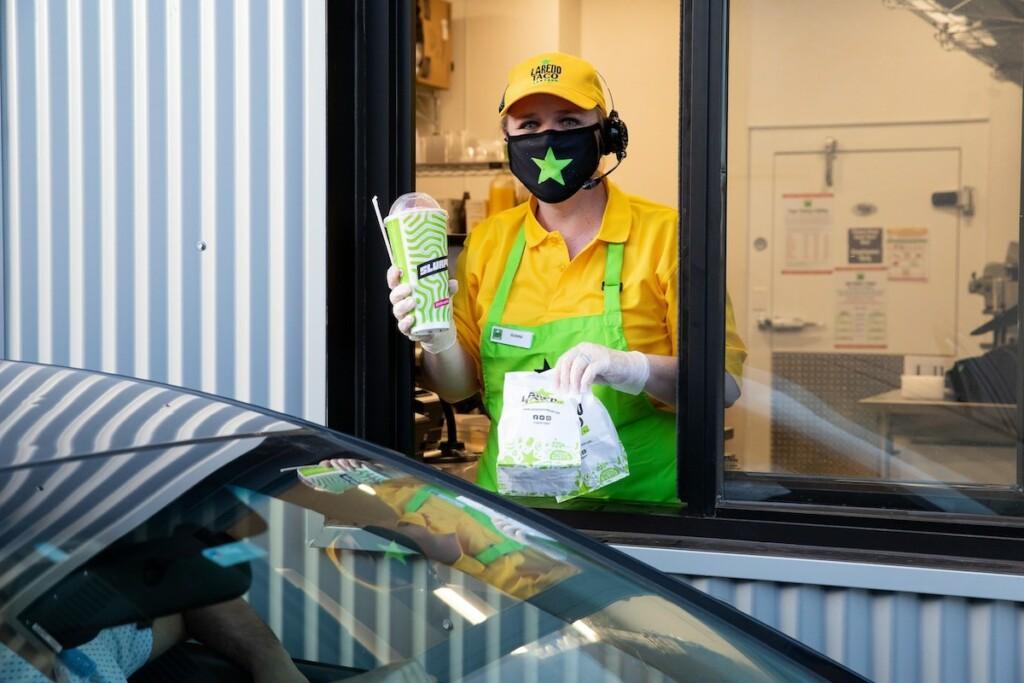7-Eleven announced its first Laredo Taco Company drive-thru restaurant in Dallas. Photo Courtesy of 7-Eleven