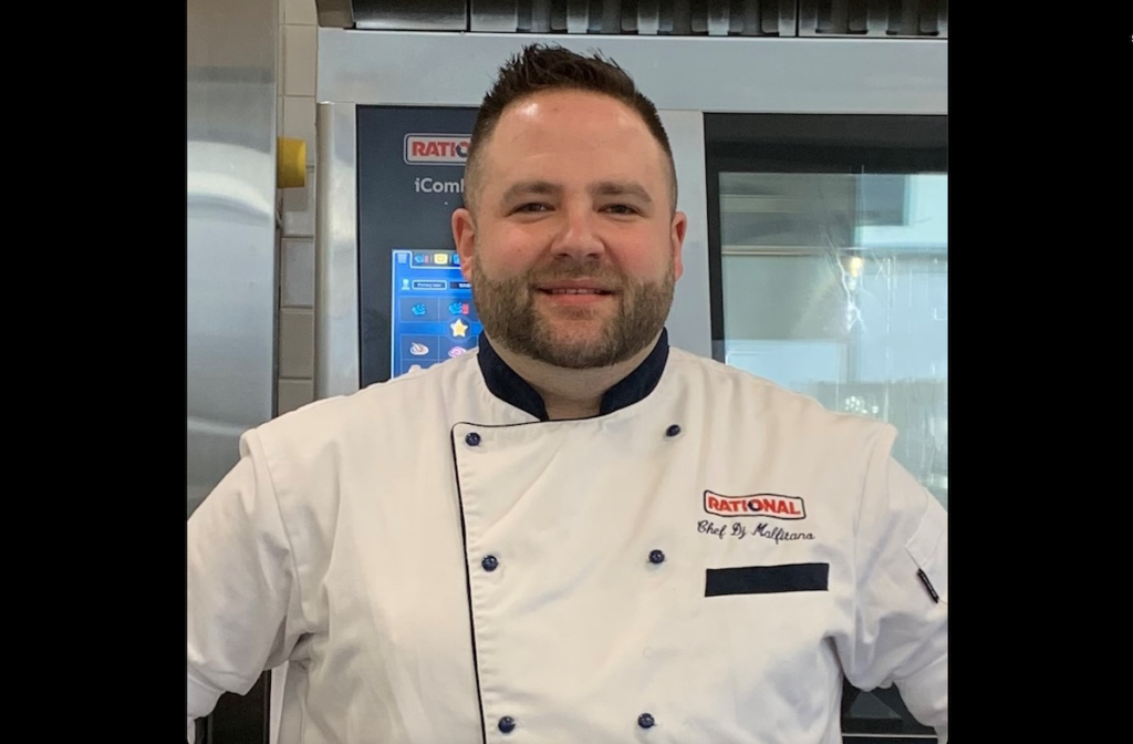 Corporate Chef DJ Malfitano has been hired by Culinary Equipment Group. Photo Courtesy of Culinary Equipment Group