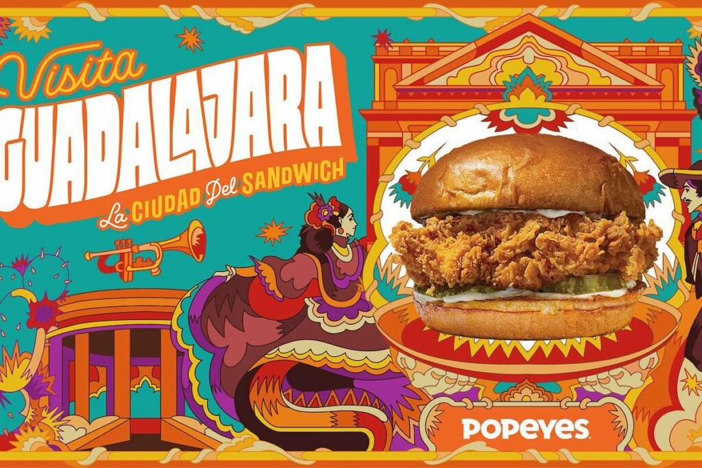 Popeyes currently only operates within Mexico in Guadalajara, but it plans to change that this year. Photo Courtesy of Popeyes Mexico Facebook