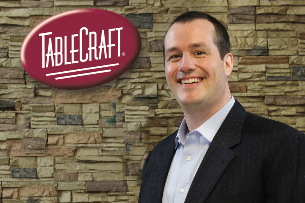 Jeff Tait, a 15-year veteran at TableCraft, was promoted to the role of president, the company announced this month. Photo Courtesy of TableCraft