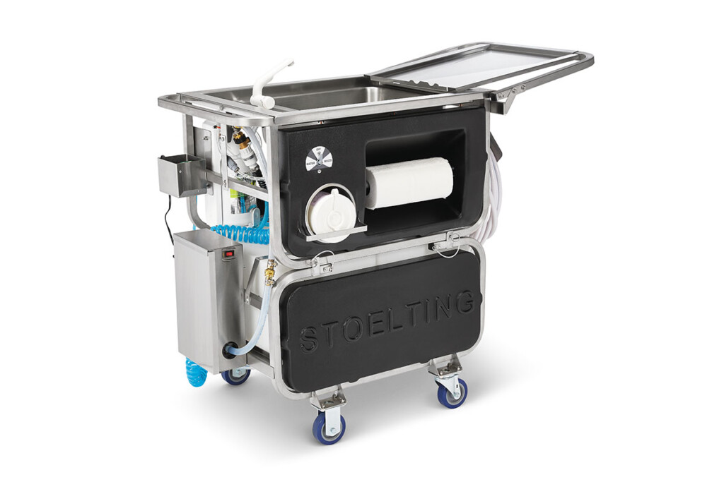 Traditionally used for frozen treat equipment, Stoelting's Companion Cart Mobile Cleaning, Sanitizing and Disinfecting System can clean remote areas of any facility that don't have a water source nearby. Think floors, walls, surfaces and, of course, frozen treat equipment. stoeltingfoodservice.com