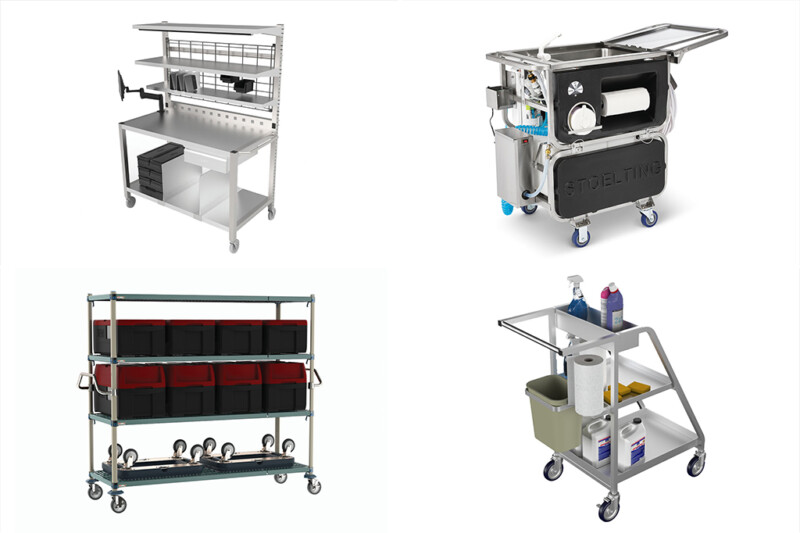 Today's carts for foodservice meet the needs of operators during the pandemic and beyond.